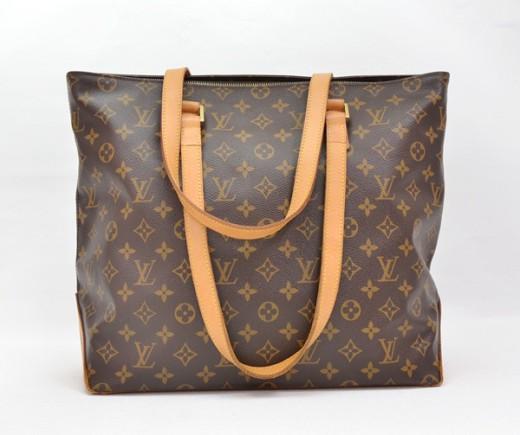 6450180991f4 Louis Vuitton LOUIS VUITTON Monogram Canvas Cabas Mezzo Shoulder Bag ...