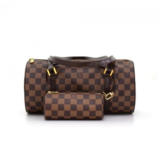 311cb008d730 Louis Vuitton Louis Vuitton Papillon 30 Ebene Damier Canvas Hand Bag ...