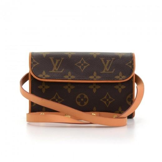 4f47cc3c5 Louis Vuitton Louis Vuitton Pochette Florentine Monogram Canvas ...