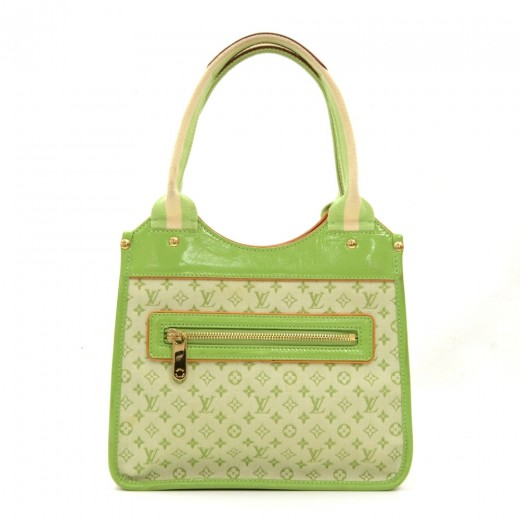 832b98d33 Louis Vuitton Louis Vuitton Sac Kathleen Light Green Mini Monogram ...