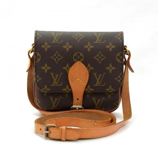 beda7b8c535d Louis Vuitton Louis Vuitton Cartouchiere PM Monogram Canvas Shoulder ...