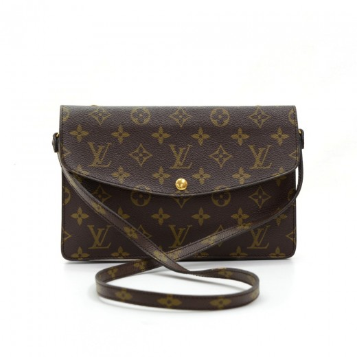 d52c634deb6f Louis Vuitton Louis Vuitton Pochette Double Rabat Monogram Canvas ...