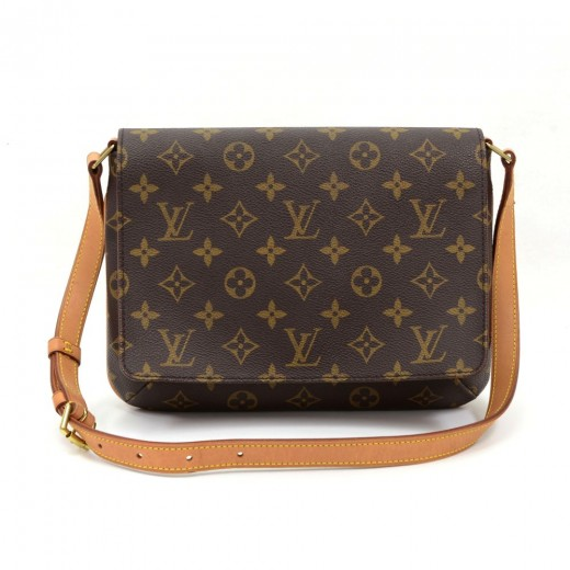 71a57f1a7103 Louis Vuitton Louis Vuitton Musette Tango Monogram Canvas Shoulder ...