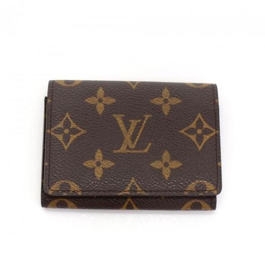 Louis Vuitton Envelope Cartes De Visite Monogram Canvas