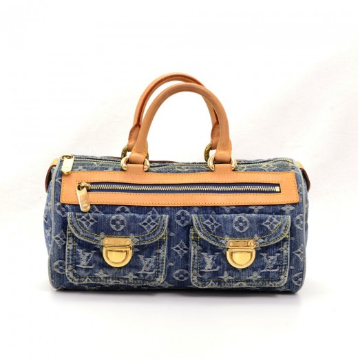 a4dce8d4eb2 Louis vuitton louis vuitton neo speedy blue monogram denim handbag jpg  520x520 Louis vuitton blue denim