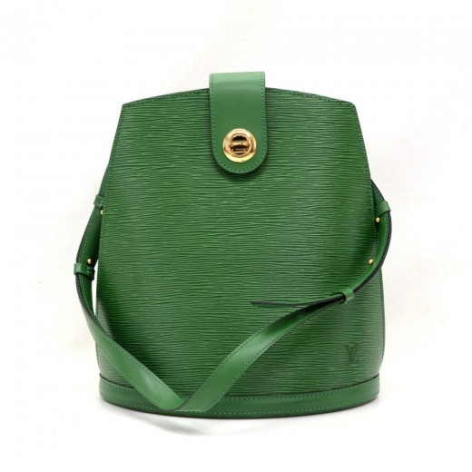 Louis Vuitton Louis Vuitton Cluny Green Epi Leather Shoulder Bag 0c4e9e3083e57