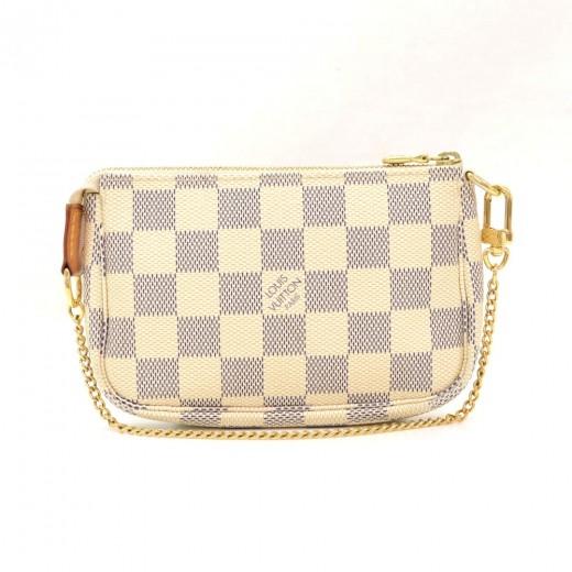 a7507e4c645a Louis Vuitton Louis Vuitton Mini Pochette Accessories Damier Azur ...