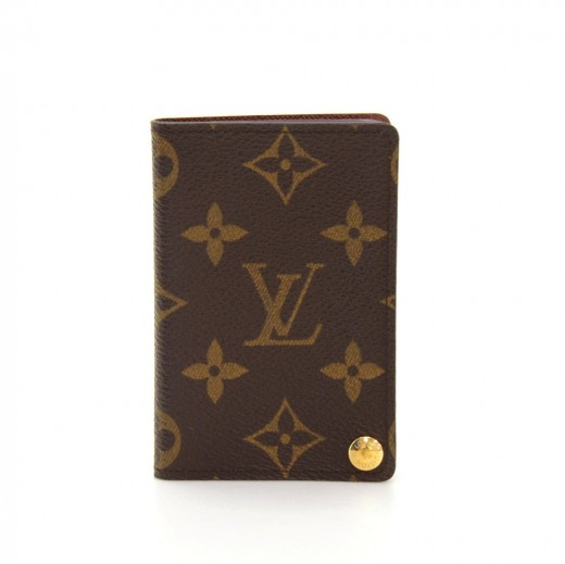 Louis Vuitton Louis Vuitton Portecartes Credit Pression Monogram - Porte carte credit