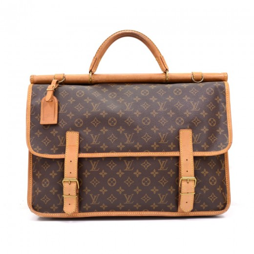 1107179c12b Louis Vuitton Vintage Louis Vuitton Kleber Sac Chasse Monogram ...