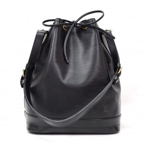 1a8d8933107d Louis Vuitton Louis Vuitton Noe Large Black Epi Leather Shoulder Bag