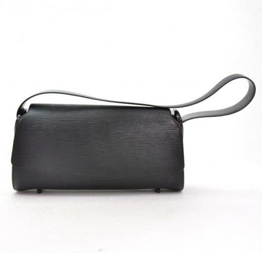 d0890aa0 Louis Vuitton Louis Vuitton Black Epi Leather Nocturne GM Shoulder ...