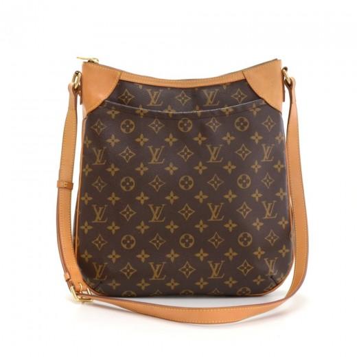 ab6fa6693730 Louis Vuitton Louis Vuitton Odeon MM Monogram Canvas Shoulder Bag