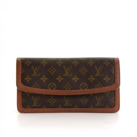 08dc93acc599 Louis Vuitton Vintage Louis Vuitton Pochette Dame PM Monogram Canvas ...