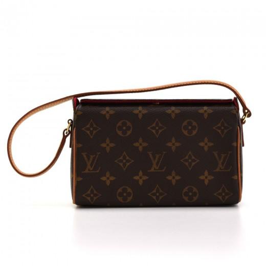 05583010e96c Louis Vuitton Louis Vuitton Recital Monogram Canvas Shoulder Hand Bag