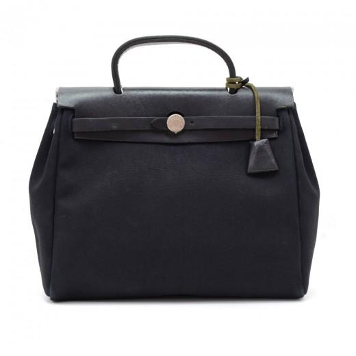 68c1dd50bfa7 Hermes Hermes Herbag PM Canvas Leather Hand Bag