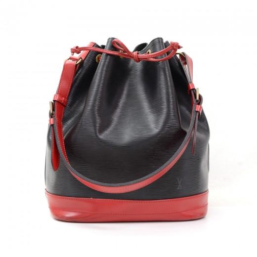 65d400aa58ce Louis Vuitton Louis Vuitton Noe Large Red Black Vio Epi Leather ...