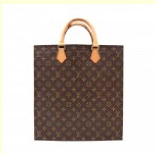c1e657b66617 Louis Vuitton EBLI973 Louis Vuitton Sac Plat Monogram Canvas Tote ...