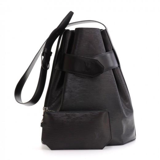 4dcbcff47d14 Louis Vuitton Vintage Louis Vuitton Sac Depaule GM Black Epi Leather ...