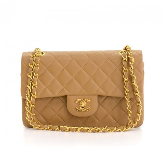 2754486c39a7 Chanel vintage chanel double flap beige caramel quilted leather jpg 520x520 Chanel  flap bag caramel