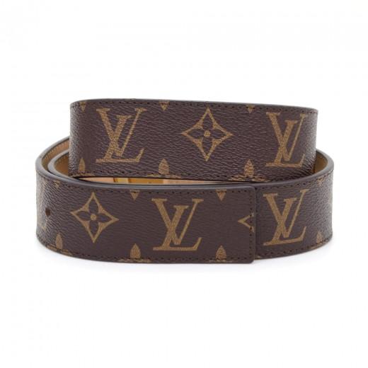 louis vuitton louis vuitton ceinture lv initiales 40mm monogram