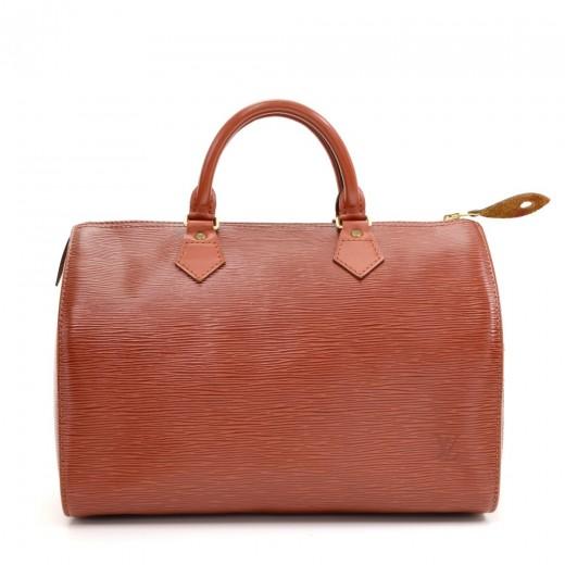 79ab91b46a708 Louis Vuitton Louis Vuitton Speedy 30 Kenyan Fawn Epi Leather City ...