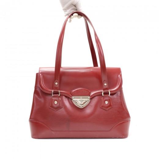 905771a8f58e Louis Vuitton Louis Vuitton Bagatelle GM Red Epi Leather Shoulder ...