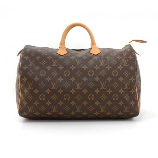 585af57f7fd9 Louis Vuitton Louis Vuitton Speedy 40 Monogram Canvas City Hand Bag