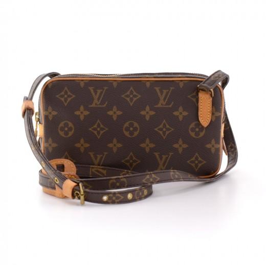 79cd142ad3f4 Vintage Louis Vuitton Pochette Marly Dragonne PM Monogram Canvas Wristlet  Bag