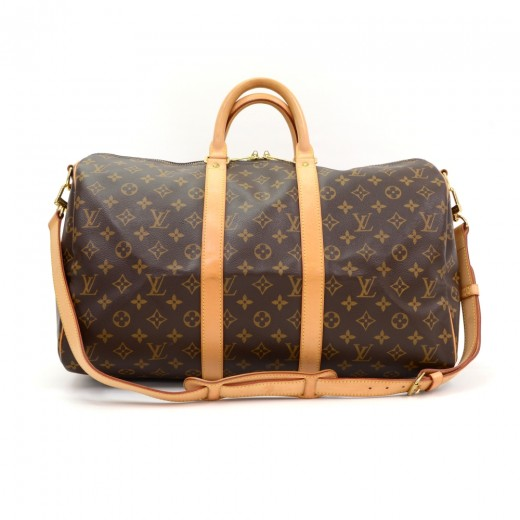 Louis Vuitton Louis Vuitton Keepall 45 Bandouliere Monogram Canvas ... 2f0f41b96f0e6
