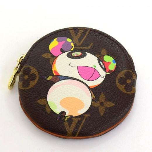 07ba1db7ee7 Louis Vuitton Louis Vuitton Porte Monnaie Monogram Canvas Panda ...