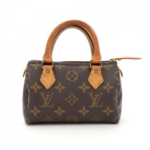 7071e8d2de68 Louis Vuitton Vintage Louis Vuitton Mini Speedy Sac HL Monogram ...