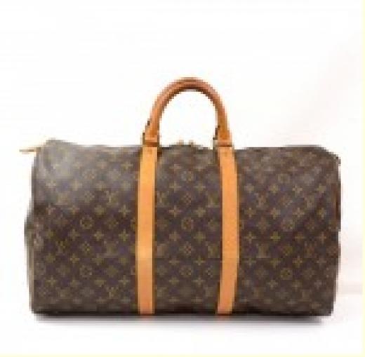8bfd89e1f3c4 Louis Vuitton Louis Vuitton Keepall 50 Monogram Canvas Duffle Travel ...