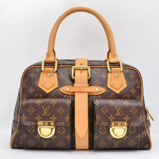 691a390a3dec Louis Vuitton LOUIS VUITTON Manhattan GM Monogram Handbag V432