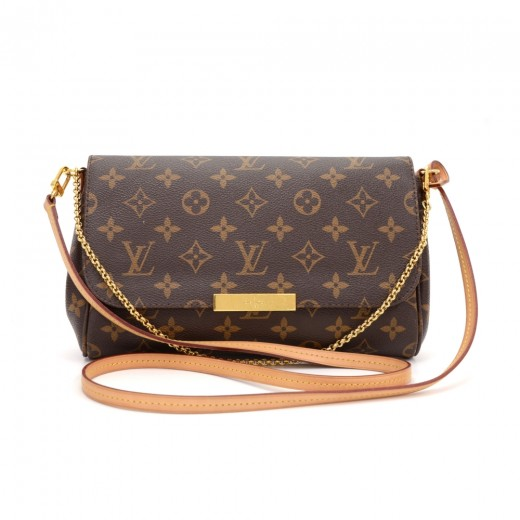 b22a7fed77f5 Louis Vuitton Louis Vuitton Favorite PM Monogram Canvas 2way ...