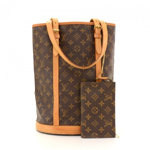5510e1a9fe0f Louis Vuitton Louis Vuitton Bucket GM Monogram Canvas Shoulder Bag