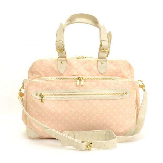 e5e3c228f328 Louis Vuitton Sac A Langer Baby Pink Mini Monogram Diaper Shoulder Bag