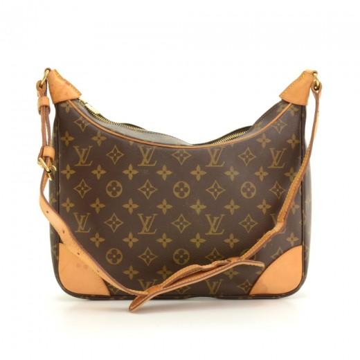 5e61a0c1fb3f Louis Vuitton 77 Louis Vuitton Boulogne Monogram Canvas Shoulder Bag