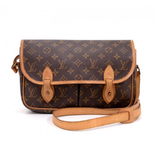 Louis Vuitton Vintage Sac Gibeciere Mm Monogram Canvas