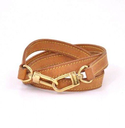 bba4abb257ec Louis Vuitton Louis Vuitton Brown Leather Shoulder Strap For Monogram .