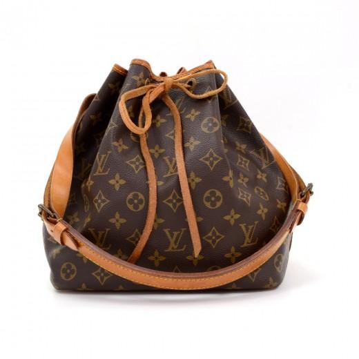 1b7dbed0fd5c Louis Vuitton Vintage Louis Vuitton Petit Noe Monogram Canvas ...