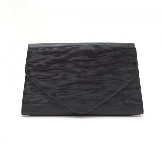 870536b7e6d2 Louis Vuitton Vintage Louis Vuitton Art Deco PM Black Epi Leather ...