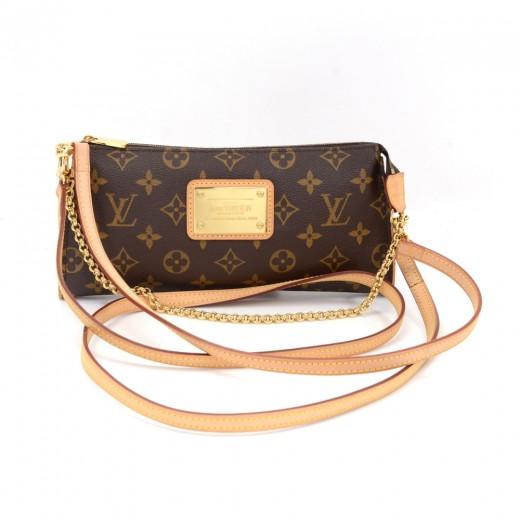 6103b022db1b6 Louis Vuitton Louis Vuitton Eva Monogram Canvas Pochette Bag