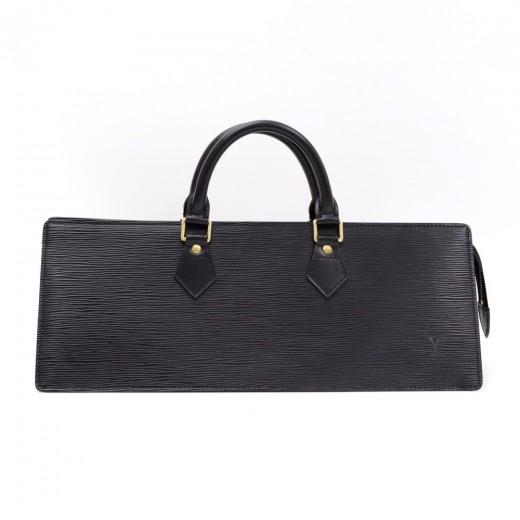 97802ec8213 Louis Vuitton Vintage Louis Vuitton Sac Triangle Black Epi Leather ...