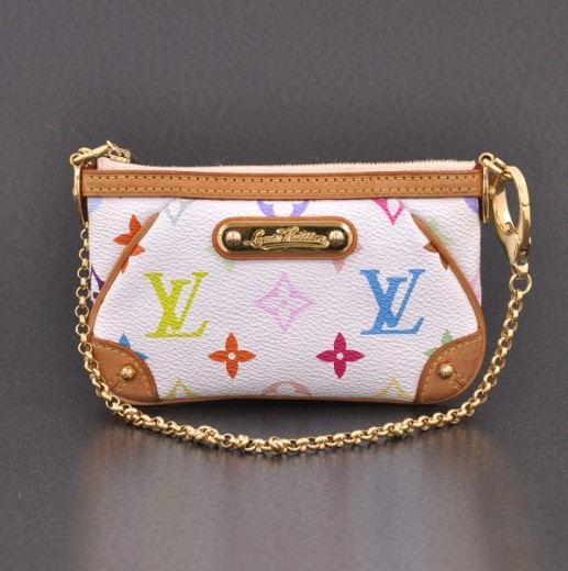 Louis Vuitton Louis Vuitton Milla Clutch White Multicolor Monogram ... bf4b61c1d8f4a