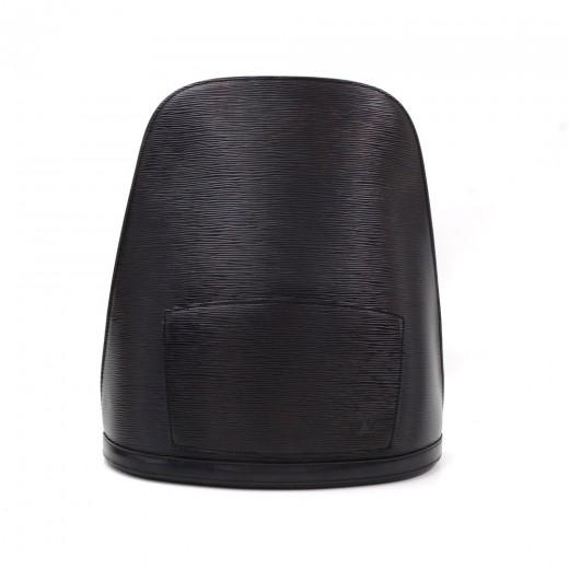 d3bdb67cec54 Louis Vuitton Louis Vuitton Gobelins Black Epi Leather Large ...