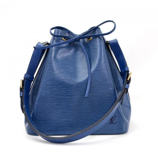 Louis Vuitton Vintage Louis Vuitton Petit Noe Blue Epi Leather ... 48e9c430faa35