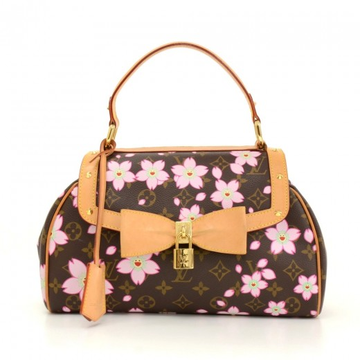 1fefb6655082 Louis Vuitton Sac Retro PM Cherry Blossom Monogram Canvas Murakami Hand Bag  - 2003 Limited