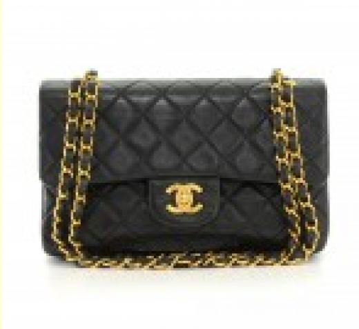 f12acdd92191 Chanel 4 Chanel 2.55 Double Flap Black Quilted Leather Shoulder Bag