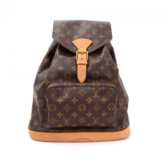 2b07e7972fd9 Louis Vuitton Louis Vuitton Montsouris GM Monogram Canvas Backpack ...