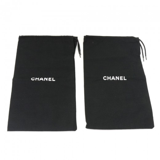 3a2ad86a1f8a Chanel Office Use-Chanel Black Dust Bag For Shoes
